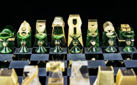 S.T. Dupont's Star Wars chess set
