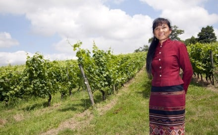 Thai female winemaker and National Order of Merit recipient Méo Sakorn-Sériés at the Chateau de Cabidos estate in France.