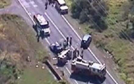 Two women died in the car crash near Byron Bay last week. Photo: Twitter