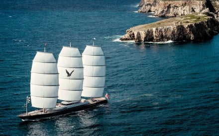 In 2006, the towering Maltese Falcon was launched to considerable fanfare and a cacophony of plaudits. Photo: SCMP Handout