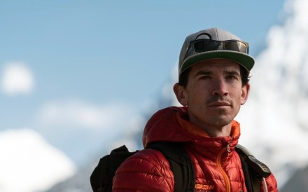 Adrian Ballinger is the 200th person to climber Everest without supplemented oxygen. Photo: Adrian Ballinger