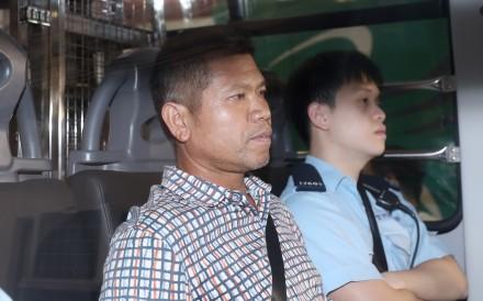 Yu Zulin arrives at Eastern Court. Photo: Sam Tsang