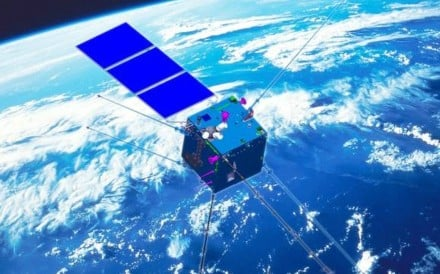 An artist's impression of the Zhangheng I electromagnetic surveillance satellite to be launched next year. Photo: Handout