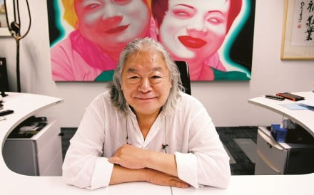 Hong Kong property tycoon George Wong had a number of art projects in the pipeline before his death, including an exhibition of Chinese abstract art. Photo: Simon Song