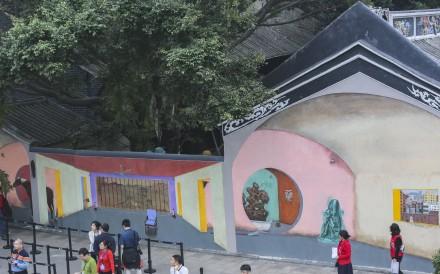 Hu Jiamin's art work, Time Discrepancy, pays tribute to late Chinese dissident Liu Xiaobo. Photo: SCMP