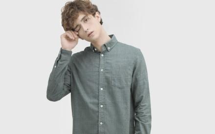 Cosmos Studio's sustainable, unisex tailored shirt.