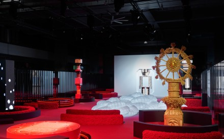 Chanel's Mademoiselle Prive exhibition opened in Hong Kong in January.