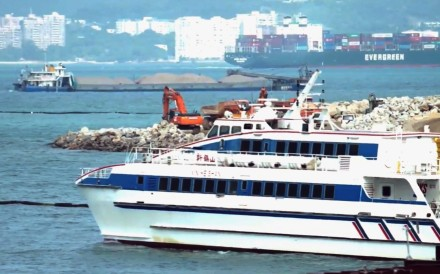A cross-boundary ferry to the mainland and Macau from Hong Kong International Airport. Photo: HKIA