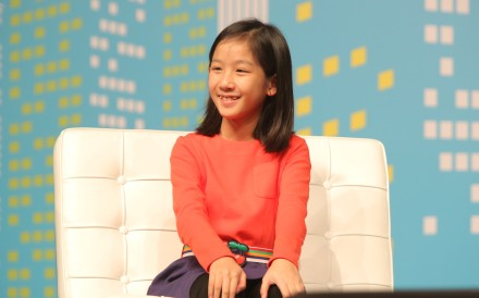 The tech-savvy girl launched her language learning application MinorMynas at age 10 after struggling with Mandarin lessons