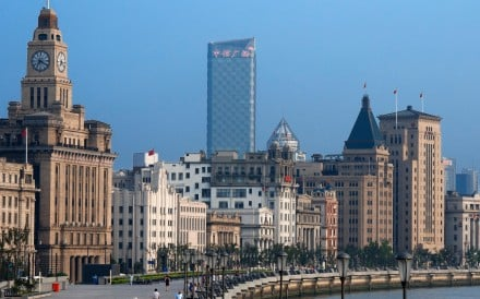 The Bund promenade in Shanghai, China, mixes both the old and the new. Photo: Alamy