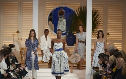 Creations from Ralph Lauren's spring summer collection at New York Fashion Week. Photo: EPA-EFE/Ralph Lauren
