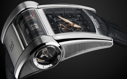 The watch founder talks about the complicated process of designing the new Bugatti Type 390 timepiece based on 1500hp quad-turbocharged W16 engine of Bugatti Chiron