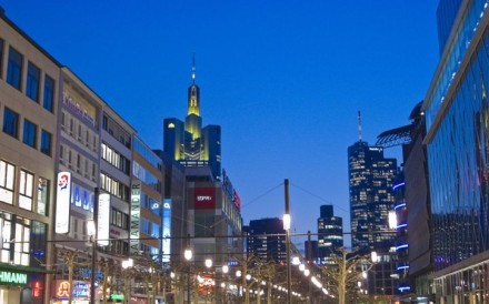 Frankfurt's city centre. Photo: Siqui Sanchez/Moment RM