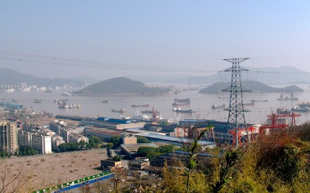 Dinghai harbour on Zhoushan Island, where British ships mounted their attack on the city during the first opium war in the 1840s. Photo: Stuart Heaver
