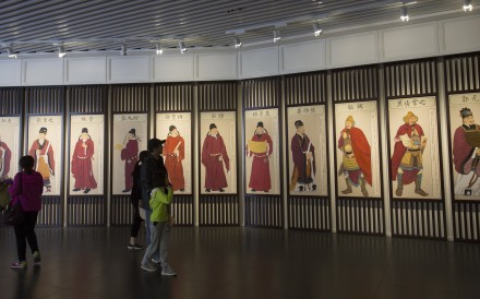 Exhibits in the Ming Temple in Luoyang, in China's Henan province. The Tian and Ming temples of the ancient city date back to the Sui and Tang dynasties (581-907). Photo: May Tse