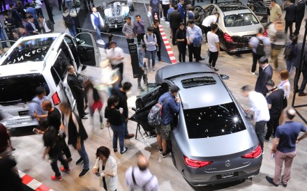 By 2020, one in every two new cars sold in China, the world's largest car market, will be an intelligent one