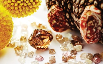 Diamonds from the Argyle mine in Western Australia are coloured by a rare geology, mining experts say.