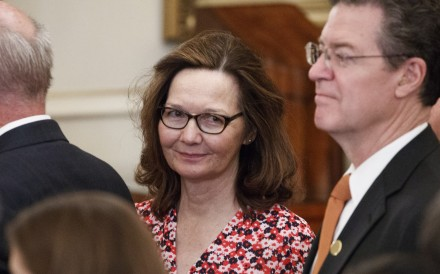 Gina Haspel (seen on Wednesday) threatened to pull out of her nomination for CIA director on Friday over concerns about her involvement in the interrogation of terrorism suspects, insiders said. Photo: EPA-EFE