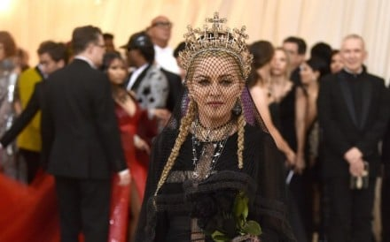 Madonna's Rinaldy Yunardi-designed crown was on-point for the Met Gala's heavenly theme.