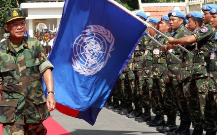 Fuelled by a sense of debt from its civil war, Cambodia makes an outsized contribution to UN peacekeeping. Some of its forces have paid the ultimate price – while those who return must deal with the trauma alone