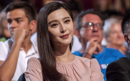 Chinese actress Fan Bingbing is facing tax evasion allegations. Photo: AFP