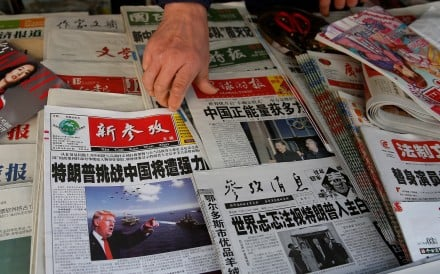 China's state media has a history of talking up or down the stock markets. Photo: Reuters.