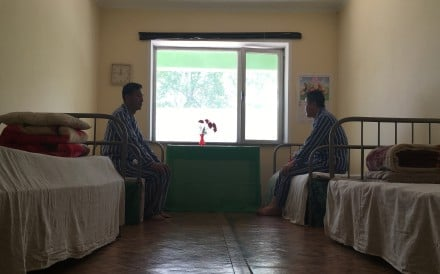 Patients in their room at the National Tuberculosis Reference Laboratory in Pyongyang, North Korea. Photo: AP