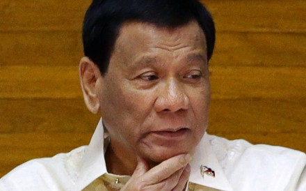 Philippine President Rodrigo Duterte is committed to improving relations with Beijing. Photo: Reuters