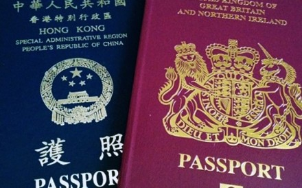 You could register for a BN(O) passport right up until June 30, 1997. After the handover on July 1, 1997, permanent Hong Kong residents who were also Chinese nationals became eligible for the Hong Kong Special Administrative Region passport. Photo: Handout