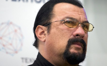 File photo of actor Steven Seagal. Photo: AP