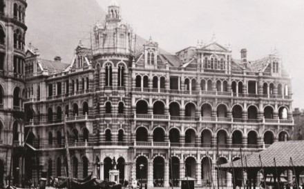 The landmark late-Victorian General Post Office, built in 1911, was vacated in 1976 as it could no longer meet Hong Kong's growing postal needs.