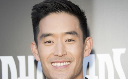 Mike Moh at the world premiere of Marvel's Inhumans in Los Angeles, California. Photo: Eugene Powers