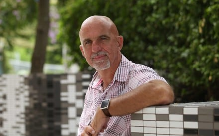 Toby Newton, head of International College Hong Kong, believes in a different style of teaching. Photo: Xiaomei Chen