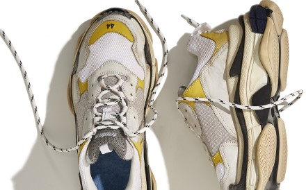 Luxury house Balenciaga's Triple S shoes have proved a big hit with trendy consumers.