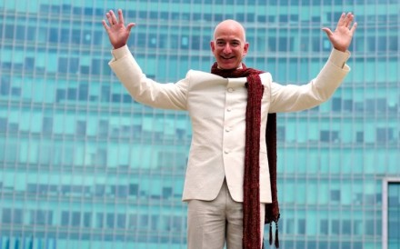 Amazon founder and CEO Jeff Bezos is the richest person alive. Photo: Reuters