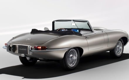 Jaguar Land Rover announces the return of the classic model – a battery-operated, emission-free version known as the E-Type Zero – which is revving up to hit the roads in the summer of 2020, with a top speed of 150mph