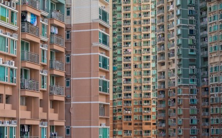 Flats in Hong Kong are becoming smaller and pricier. Photo: Bloomberg