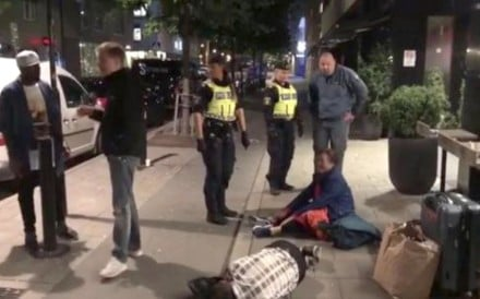 China's ambassador to Sweden has escalated his response to the treatment of a Chinese family after police said there had been no wrongdoing. Photo: Handout