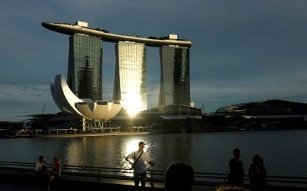 Marina Bay in Singapore. A Ping An offshoot is targeting wealthy investors in the southeast Asian republic. Photo: Reuters