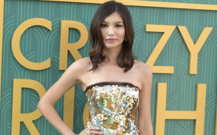 "British actress Gemma Chan stars in the Hollywood hit ""Crazy Rich Asians"", alongside other actors of Chinese descent. Photo: AP"