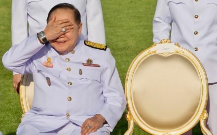 Thai junta number two Prawit Wongsuwon is seen in December 2017. Photo: AFP