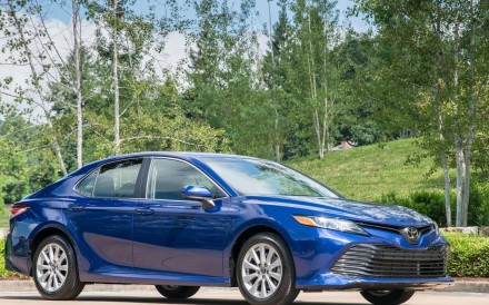 The Toyota Camry features innovative technology and ranks fourth among the top 10 cars millennials are buying.
