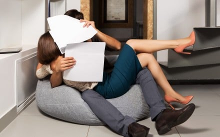 For many overworked people, the office may be the only place they can find love. But office romances have the potential to ruin careers                                     Beware romances where one person has professional authority over another
