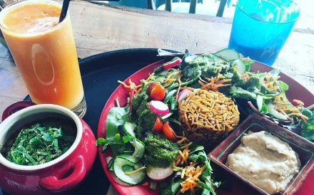 London is among the global cities that offer fine plant-based food offerings for vegan holidaymakers. Photo: Kayla Hill