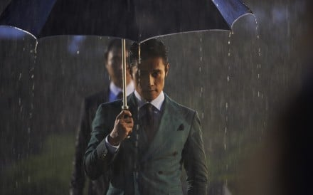 Lee Byung-hun stars as a political henchman in the movie 'Inside Men'.