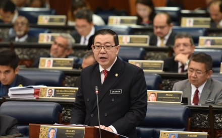 Malaysian Finance Minister Lim Guan Eng said Goldman 'admitted culpability' for the scandal. Photo: Xinhua