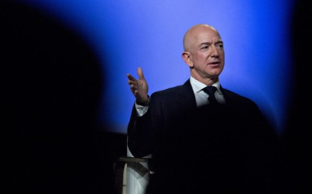 Jeff Bezos, CEO of Amazon, which is reportedly looking to open offices for up to 50,000 staff in the New York borough of Queens. Photo: Bloomberg