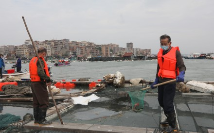 The Quangang government said the leak has been cleaned up but a local chemist said traces of the chemical could remain in the water for months or even years. Photo: Xiaomei Chen