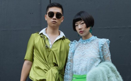Hong Kong stylist Chan Chi Lung works with fashion influencer Si Lin.