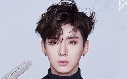 Kihyun of the K-pop boy band Monsta X, who celebrates his 25th birthday on Thursday. Photo: Instagram